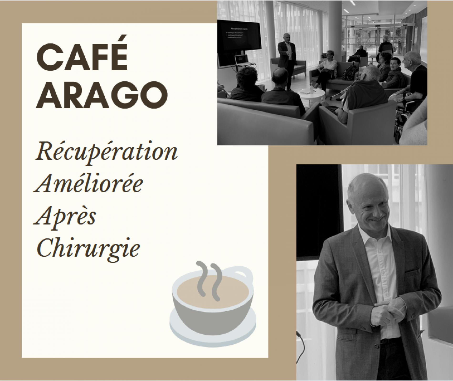Le Café Arago, un moment d'échange privilégié entre patients médecins et professionnels de santé!