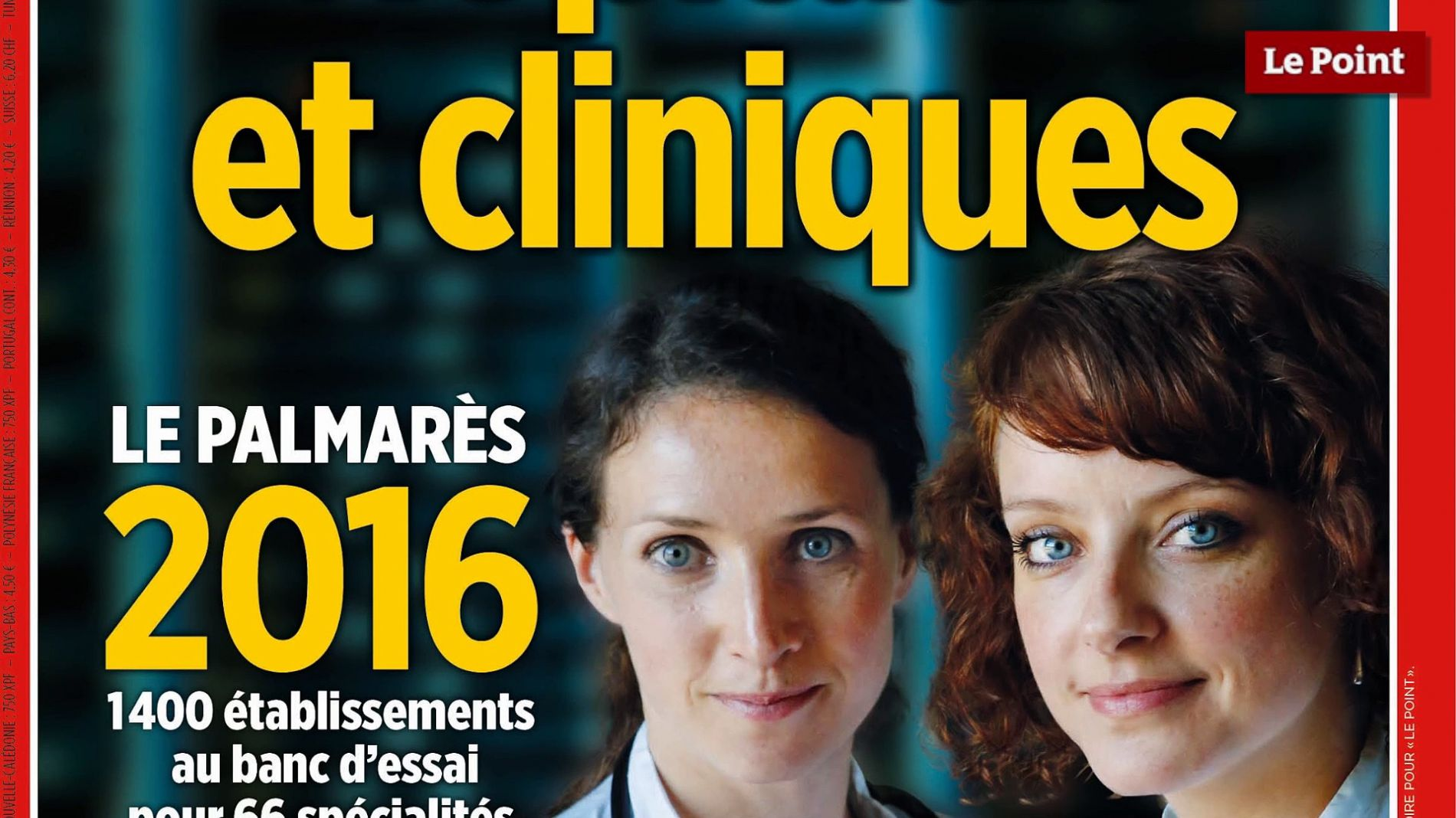 La clinique Arago classée n°1 pour la prothèse de hanche 2016