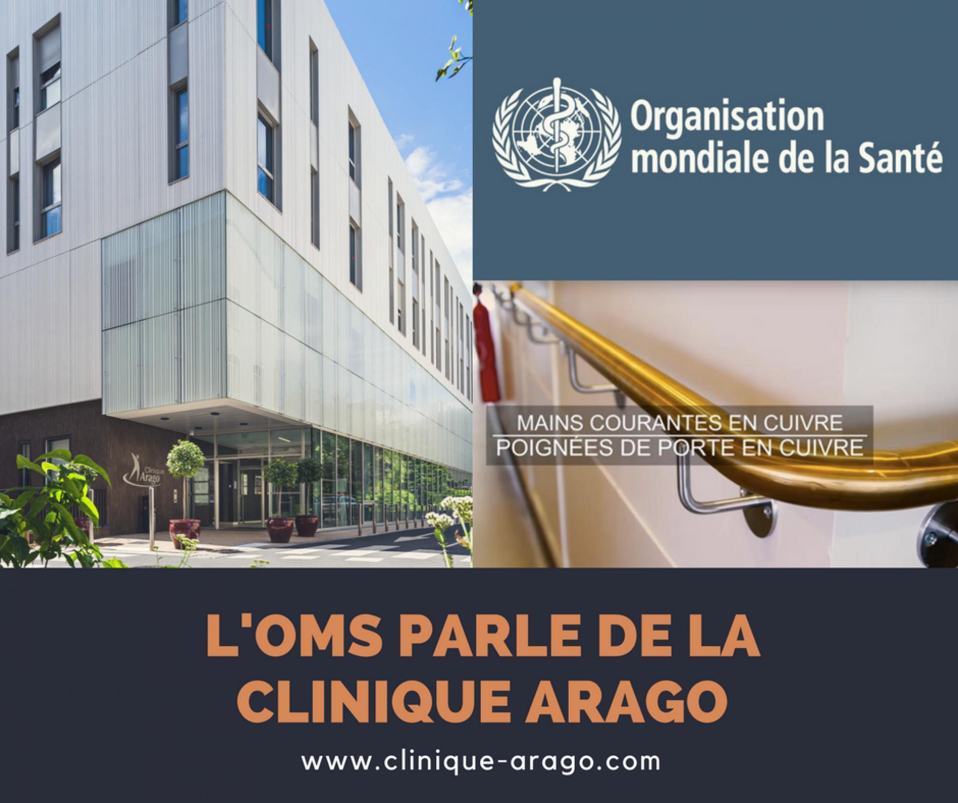 L'OMS parle de la clinique Arago